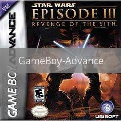 Image of Star Wars Revenge of the Sith original video game for GameBoy Advance classic game system. Rocket City Arcade, Huntsville Al. We ship used video games Nationwide