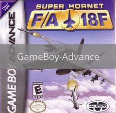 Image of Super Hornet FA-18F original video game for GameBoy Advance classic game system. Rocket City Arcade, Huntsville Al. We ship used video games Nationwide