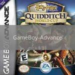 Image of Harry Potter Quidditch World Cup original video game for GameBoy Advance classic game system. Rocket City Arcade, Huntsville Al. We ship used video games Nationwide