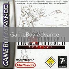 Image of Final Fantasy VI Advance original video game for GameBoy Advance classic game system. Rocket City Arcade, Huntsville Al. We ship used video games Nationwide