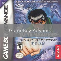 Image of Yu Yu Hakusho Spirit Detective original video game for GameBoy Advance classic game system. Rocket City Arcade, Huntsville Al. We ship used video games Nationwide