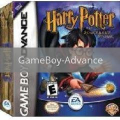 Image of Harry Potter Sorcerers Stone original video game for GameBoy Advance classic game system. Rocket City Arcade, Huntsville Al. We ship used video games Nationwide