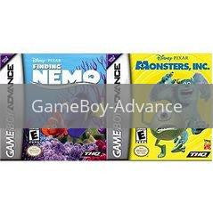Finding Nemo and Monsters Inc Bundle