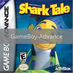 Image of Shark Tale original video game for GameBoy Advance classic game system. Rocket City Arcade, Huntsville Al. We ship used video games Nationwide