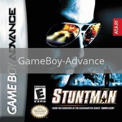 Image of Stuntman original video game for GameBoy Advance classic game system. Rocket City Arcade, Huntsville Al. We ship used video games Nationwide