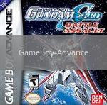 Image of Mobile Suit Gundam Seed Battle Assault original video game for GameBoy Advance classic game system. Rocket City Arcade, Huntsville Al. We ship used video games Nationwide
