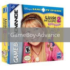 Disney's Lizzie McGuire 2 Lizzie Diaries Game + TV Episode