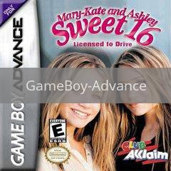 Image of Mary Kate and Ashley Sweet 16 original video game for GameBoy Advance classic game system. Rocket City Arcade, Huntsville Al. We ship used video games Nationwide
