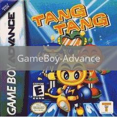 Image of Tang Tang original video game for GameBoy Advance classic game system. Rocket City Arcade, Huntsville Al. We ship used video games Nationwide