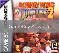 Image of Donkey Kong Country 2 original video game for GameBoy Advance classic game system. Rocket City Arcade, Huntsville Al. We ship used video games Nationwide