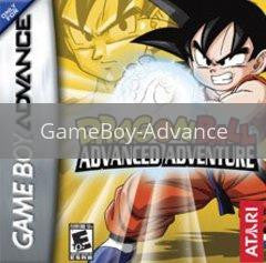 Image of Dragon Ball Advanced Adventure original video game for GameBoy Advance classic game system. Rocket City Arcade, Huntsville Al. We ship used video games Nationwide