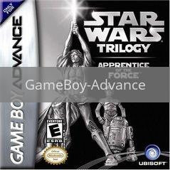 Image of Star Wars Trilogy Apprentice Of The Force original video game for GameBoy Advance classic game system. Rocket City Arcade, Huntsville Al. We ship used video games Nationwide