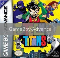 Image of Teen Titans original video game for GameBoy Advance classic game system. Rocket City Arcade, Huntsville Al. We ship used video games Nationwide