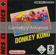 Image of Donkey Kong NES Series original video game for GameBoy Advance classic game system. Rocket City Arcade, Huntsville Al. We ship used video games Nationwide