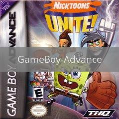 Image of Nicktoons Unite original video game for GameBoy Advance classic game system. Rocket City Arcade, Huntsville Al. We ship used video games Nationwide