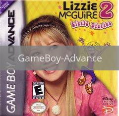 Image of Lizzie McGuire 2 original video game for GameBoy Advance classic game system. Rocket City Arcade, Huntsville Al. We ship used video games Nationwide