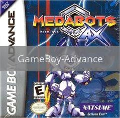 Image of Medabots AX: Rokusho Version original video game for GameBoy Advance classic game system. Rocket City Arcade, Huntsville Al. We ship used video games Nationwide