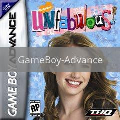 Image of Unfabulous original video game for GameBoy Advance classic game system. Rocket City Arcade, Huntsville Al. We ship used video games Nationwide