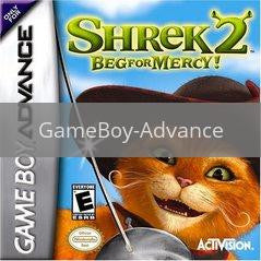 Image of Shrek 2 Beg for Mercy original video game for GameBoy Advance classic game system. Rocket City Arcade, Huntsville Al. We ship used video games Nationwide