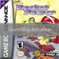 Image of Rocket Power Dream Scheme original video game for GameBoy Advance classic game system. Rocket City Arcade, Huntsville Al. We ship used video games Nationwide