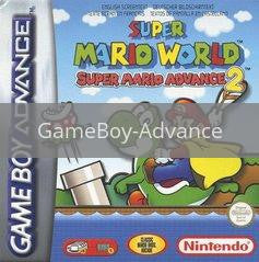 Image of Super Mario Advance 2 original video game for GameBoy Advance classic game system. Rocket City Arcade, Huntsville Al. We ship used video games Nationwide