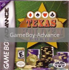 Image of Texas Hold'Em Poker original video game for GameBoy Advance classic game system. Rocket City Arcade, Huntsville Al. We ship used video games Nationwide