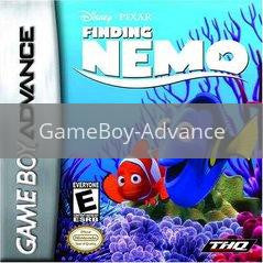 Image of Finding Nemo original video game for GameBoy Advance classic game system. Rocket City Arcade, Huntsville Al. We ship used video games Nationwide