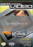 GBA Video Jimmy Neutron Volume 1