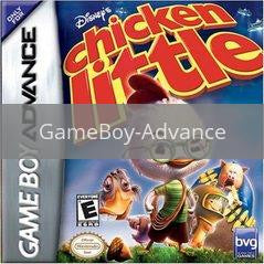 Image of Chicken Little original video game for GameBoy Advance classic game system. Rocket City Arcade, Huntsville Al. We ship used video games Nationwide