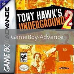 Image of Tony Hawk Underground 2 original video game for GameBoy Advance classic game system. Rocket City Arcade, Huntsville Al. We ship used video games Nationwide