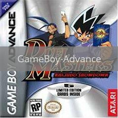 Image of Duel Masters Kaijudo Showdown original video game for GameBoy Advance classic game system. Rocket City Arcade, Huntsville Al. We ship used video games Nationwide