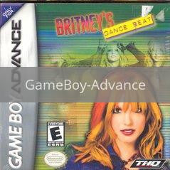 Image of Britney's Dance Beat original video game for GameBoy Advance classic game system. Rocket City Arcade, Huntsville Al. We ship used video games Nationwide