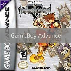 Image of Kingdom Hearts Chain of Memories original video game for GameBoy Advance classic game system. Rocket City Arcade, Huntsville Al. We ship used video games Nationwide