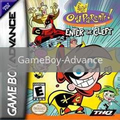Image of Fairly Odd Parents Enter the Cleft original video game for GameBoy Advance classic game system. Rocket City Arcade, Huntsville Al. We ship used video games Nationwide