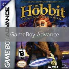 Image of The Hobbit original video game for GameBoy Advance classic game system. Rocket City Arcade, Huntsville Al. We ship used video games Nationwide