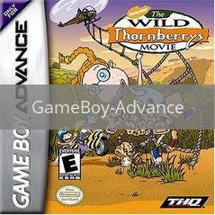 Image of Wild Thornberrys Movie original video game for GameBoy Advance classic game system. Rocket City Arcade, Huntsville Al. We ship used video games Nationwide
