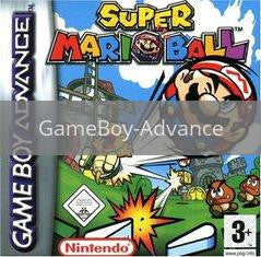 Image of Mario Pinball Land original video game for GameBoy Advance classic game system. Rocket City Arcade, Huntsville Al. We ship used video games Nationwide