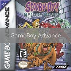Image of Scooby Doo Mystery Mayhem original video game for GameBoy Advance classic game system. Rocket City Arcade, Huntsville Al. We ship used video games Nationwide