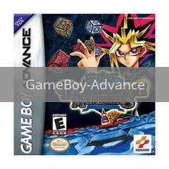 Image of Yu-Gi-Oh Dungeon Dice Monsters original video game for GameBoy Advance classic game system. Rocket City Arcade, Huntsville Al. We ship used video games Nationwide