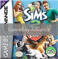 Image of The Sims 2: Pets original video game for GameBoy Advance classic game system. Rocket City Arcade, Huntsville Al. We ship used video games Nationwide