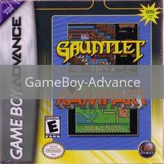 Image of Gauntlet and Rampart original video game for GameBoy Advance classic game system. Rocket City Arcade, Huntsville Al. We ship used video games Nationwide