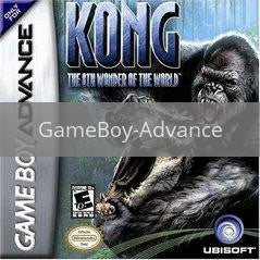 Image of Kong 8th Wonder of the World original video game for GameBoy Advance classic game system. Rocket City Arcade, Huntsville Al. We ship used video games Nationwide