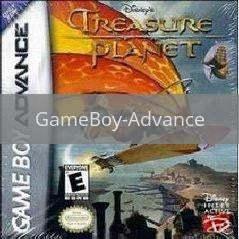 Image of Treasure Planet original video game for GameBoy Advance classic game system. Rocket City Arcade, Huntsville Al. We ship used video games Nationwide