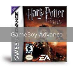 Image of Harry Potter Goblet of Fire original video game for GameBoy Advance classic game system. Rocket City Arcade, Huntsville Al. We ship used video games Nationwide