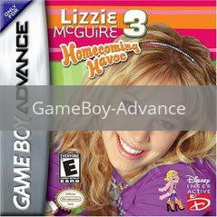 Image of Lizzie McGuire 3 original video game for GameBoy Advance classic game system. Rocket City Arcade, Huntsville Al. We ship used video games Nationwide