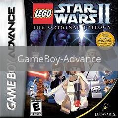 Image of LEGO Star Wars II Original Trilogy original video game for GameBoy Advance classic game system. Rocket City Arcade, Huntsville Al. We ship used video games Nationwide