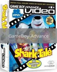 Image of GBA Video Shark Tale original video game for GameBoy Advance classic game system. Rocket City Arcade, Huntsville Al. We ship used video games Nationwide