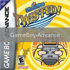 Image of Warioware Twisted original video game for GameBoy Advance classic game system. Rocket City Arcade, Huntsville Al. We ship used video games Nationwide