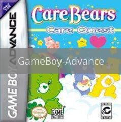 Image of Care Bears Care Quest original video game for GameBoy Advance classic game system. Rocket City Arcade, Huntsville Al. We ship used video games Nationwide