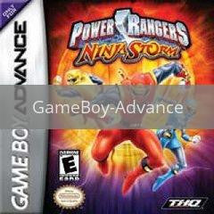 Image of Power Rangers Ninja Storm original video game for GameBoy Advance classic game system. Rocket City Arcade, Huntsville Al. We ship used video games Nationwide